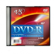 ДИСК DVD-R VS 16X, 4,7GB, SLIM/1/5/